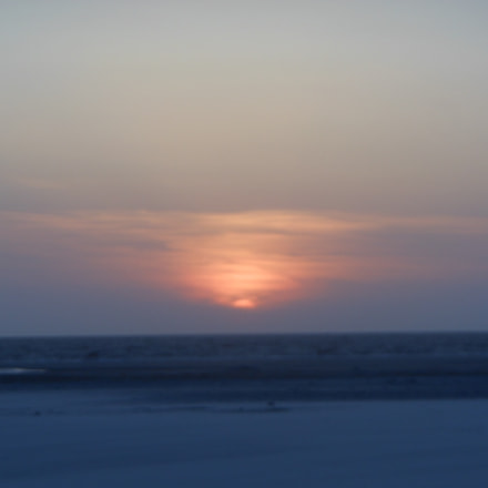 calm sunset, Nikon COOLPIX S6200