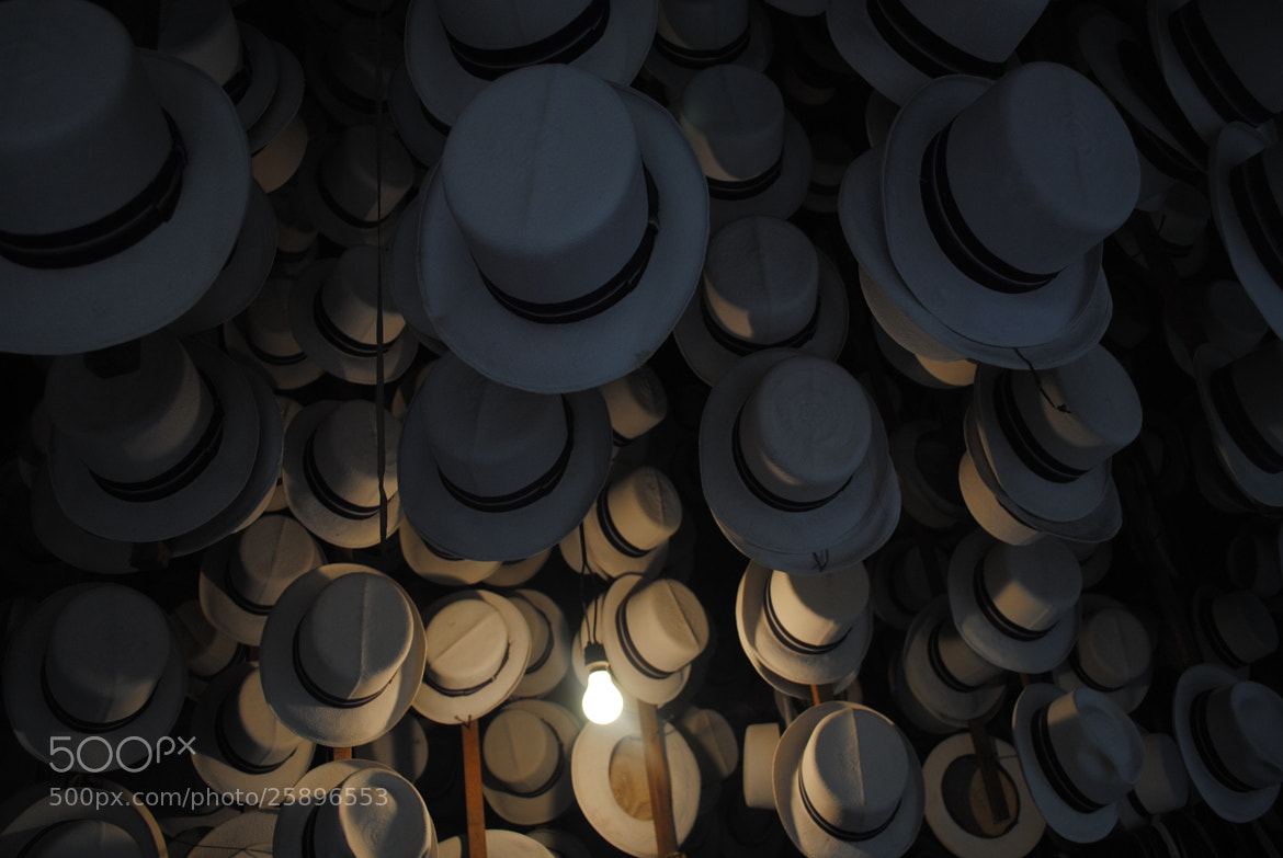 Photograph Sombrero de paja toquilla by Enrico Baldo on 500px