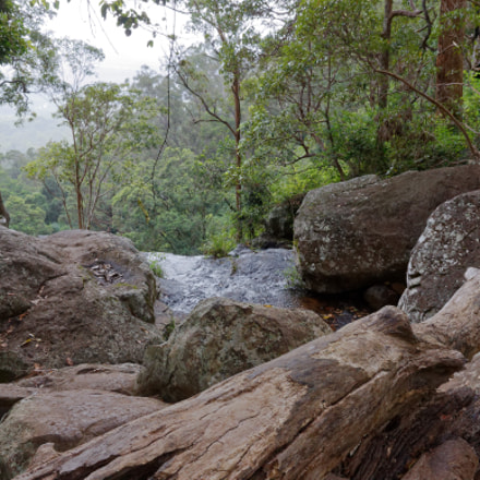 Top Of The Waterfall, Canon EOS 50D, Canon EF-S 15-85mm f/3.5-5.6 IS USM