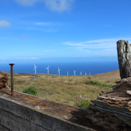 Windmills in South Maui, Canon EOS 600D, Canon EF-S 10-22mm f/3.5-4.5 USM