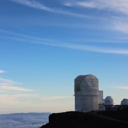 Haleakala observatory - Maui, Canon EOS 600D, Canon EF 50mm f/1.8 II