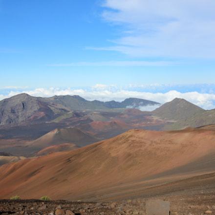 Inside Haleakala crater, Maui, Canon EOS 600D, Canon EF-S 10-22mm f/3.5-4.5 USM