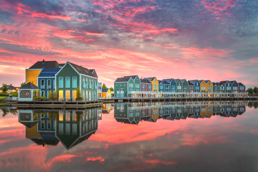 Rainbow Houses by Bart Hendrix on 500px.com