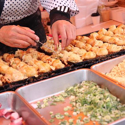 Takoyaki Chef, Canon EOS KISS X9