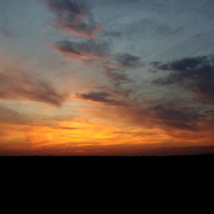 Sunset, Pentax K200D