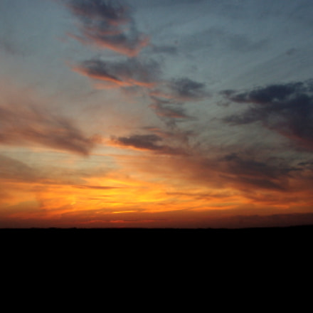 Sunset, Pentax K200D, Tamron AF 18-250mm F3.5-6.3 Di II LD Aspherical [IF] Macro
