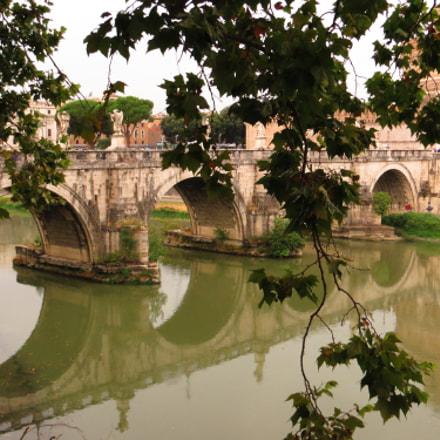 Rome. Tevere. Castillo de, Canon POWERSHOT SX240 HS