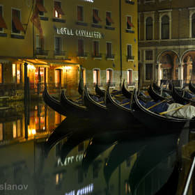 Venice. Gondolas too sleep by Danil  (Danil_Arslanov)) on 500px.com