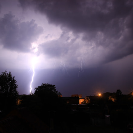 Lightning, Canon EOS 600D, Tamron AF 17-50mm f/2.8 Di-II LD Aspherical