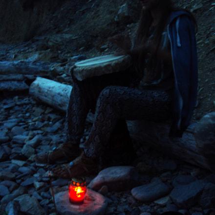 Katya and the light, Sony DSC-W180