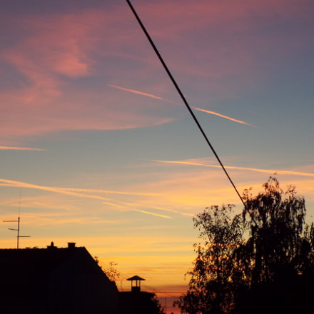 Sunset, Fujifilm FinePix S9800 S9850 S9750