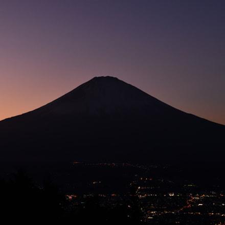 Mt. Fuji sunset, Nikon D850, AF-S Nikkor 24-70mm f/2.8E ED VR