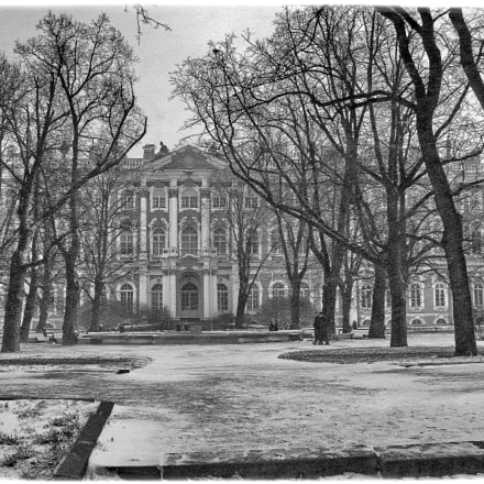 The Hermitage, The Winter, Canon POWERSHOT S5 IS