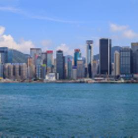 Hongkong View from Kowloon