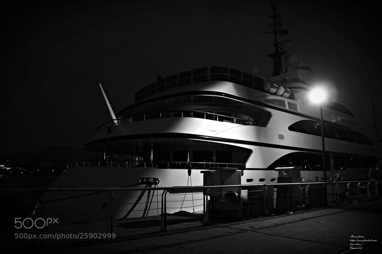 Photograph Night Yacht by Boris Chou on 500px