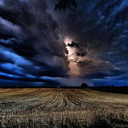 Thunderstorm, Nikon D750, Sigma 15mm F2.8 EX Diagonal Fisheye