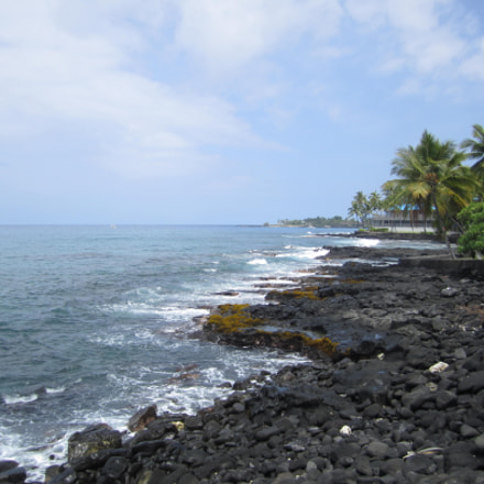 Volcanic Shoreline, Canon POWERSHOT SD1400 IS