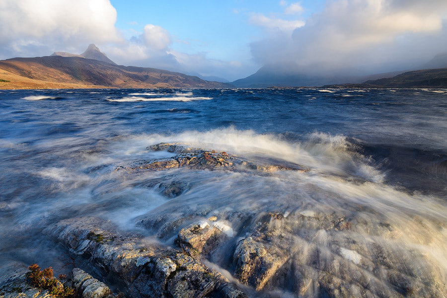 Photograph Loch Bad a' Ghiall by Guy Richardson on 500px