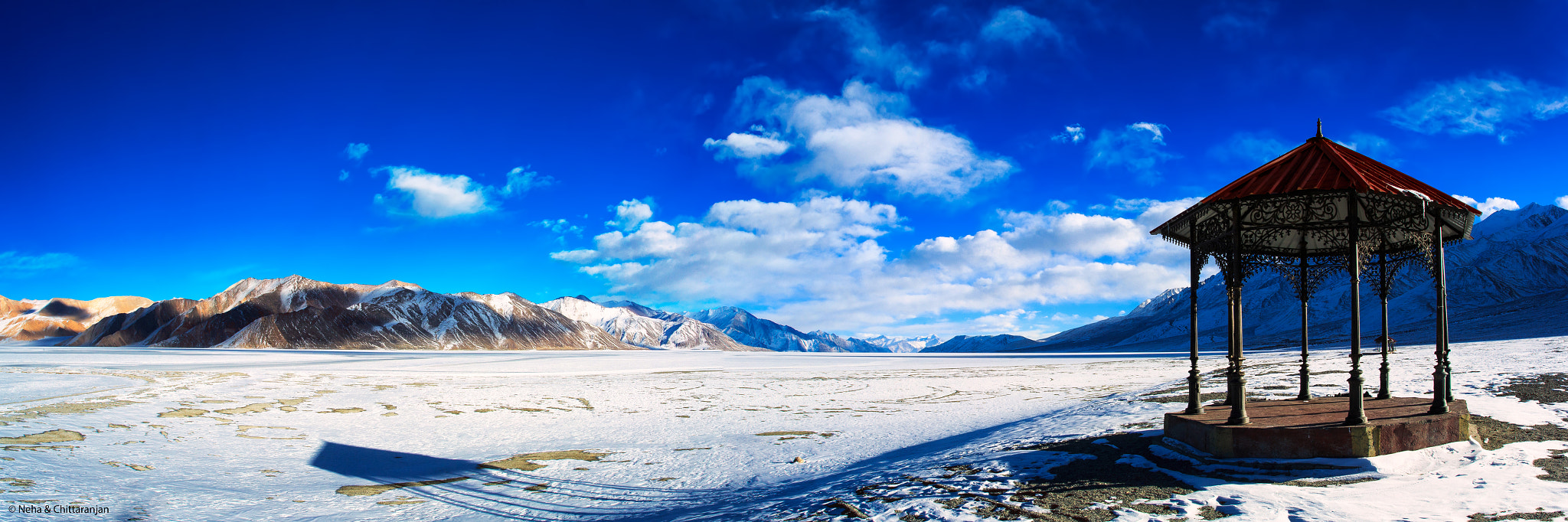 Photograph Pan Gong Lake, Ladakh, India by Neha & Chittaranjan Desai on 500px