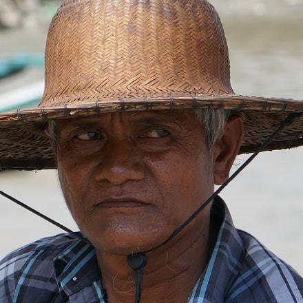 Fisherman in Myanmar, Panasonic DMC-TZ101