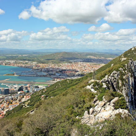 Gibraltar Rock, Canon EOS 550D, Canon EF-S 18-55mm f/3.5-5.6 IS STM