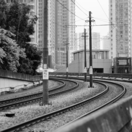 Railways in Hong Kong, Canon EOS 40D, Canon EF 50mm f/1.8 II