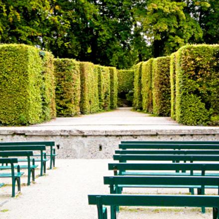 Mirabell Gardens Maze, Sony DSC-W290