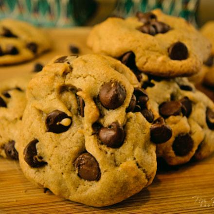 chocolate chip cookies, Nikon D7100, AF-S DX Nikkor 10-24mm f/3.5-4.5G ED