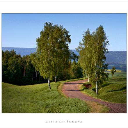 cesta od Šonova, Canon EOS 100D, Canon EF-S 15-85mm f/3.5-5.6 IS USM