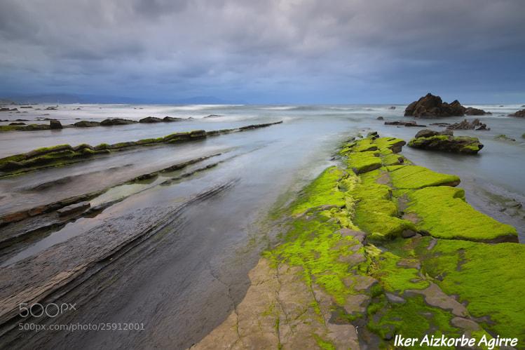 Photograph Orlegi ta urdina / Verde y azul / Green and blue by Iker Aizkorbe on 500px