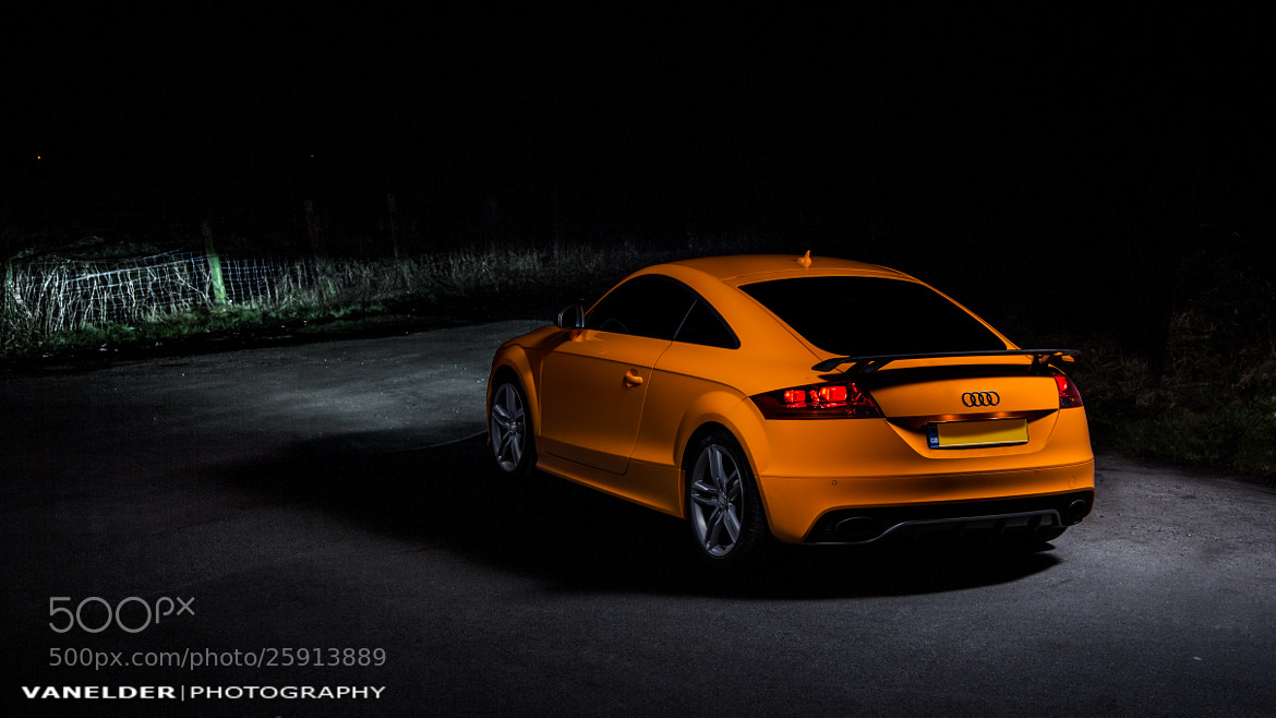 Photograph Audi TT-RS by Barry Elder on 500px