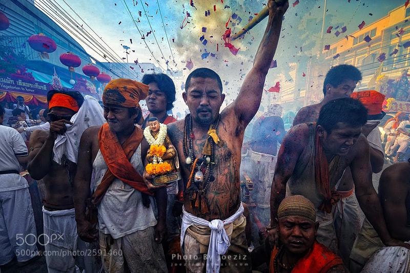 Photograph Vegeterian Ceremony by Ekkachai Pholrojpanya on 500px