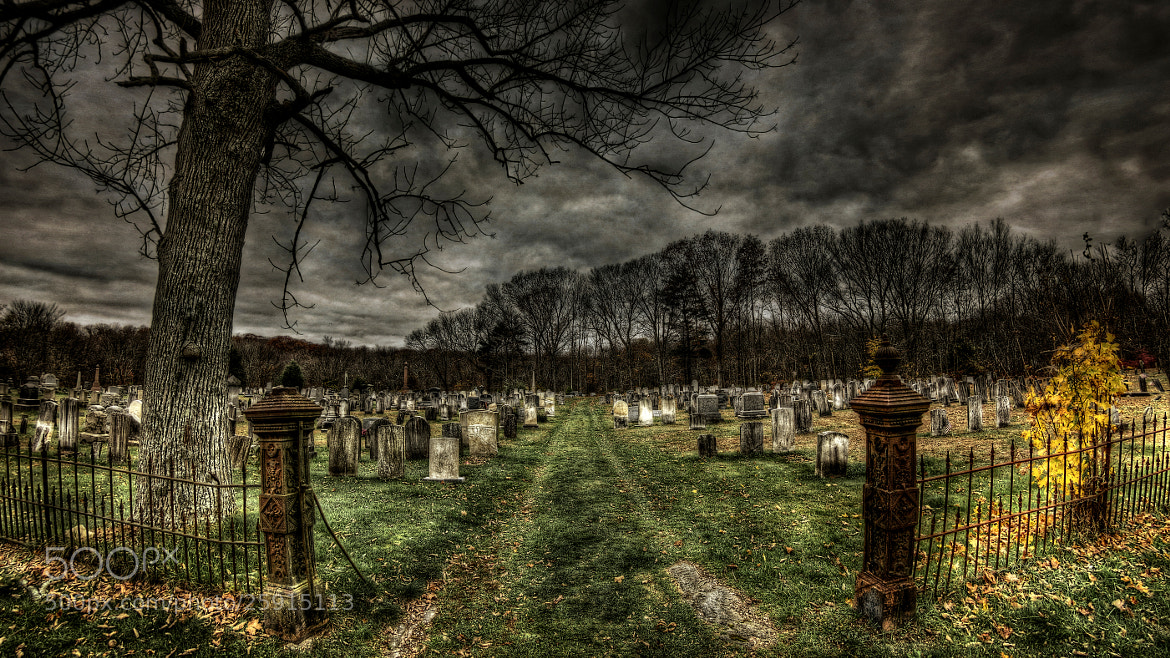 Photograph The Eerie Union Cemetery by Frank Grace on 500px