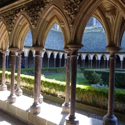 Mont-Saint-Michel abbey, Panasonic DMC-TZ36