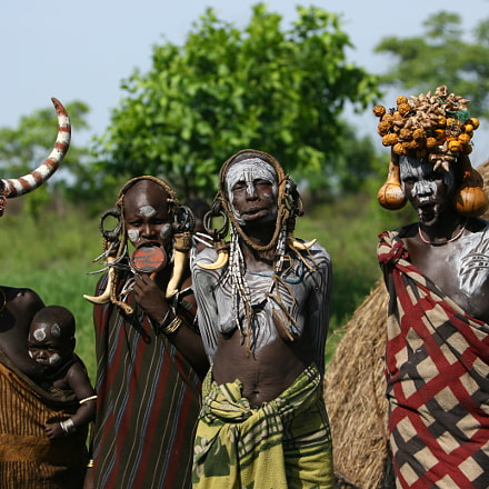 ETHIOPIE MURSI, Canon EOS-1D MARK II N, Canon EF 70-200mm f/2.8L IS