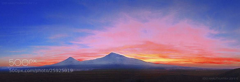 Photograph Unreal Sunset by Edo  Harutyunyan on 500px