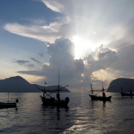 Dolphin Bay Thailand, Canon IXUS 115 HS