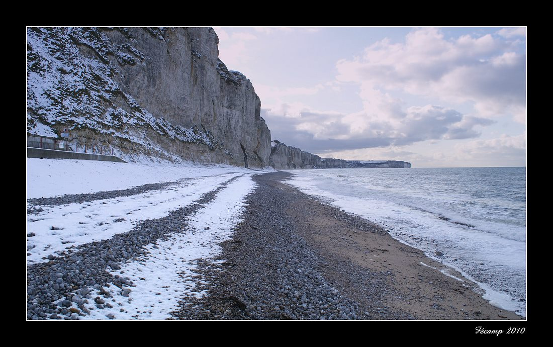 Photograph Snow on the beach by Jean-François Boulet on 500px