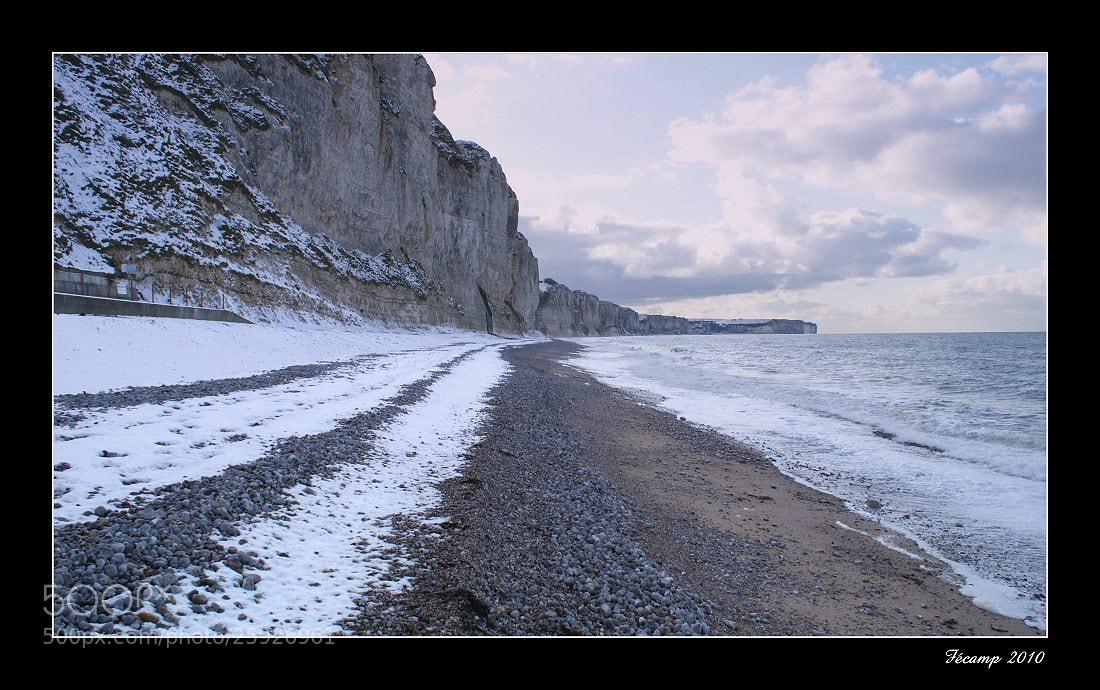 Photograph Snow on the beach by Jean-François Boulet on 500px