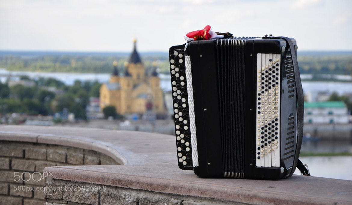 Photograph Lone accordion by MaxPro  on 500px