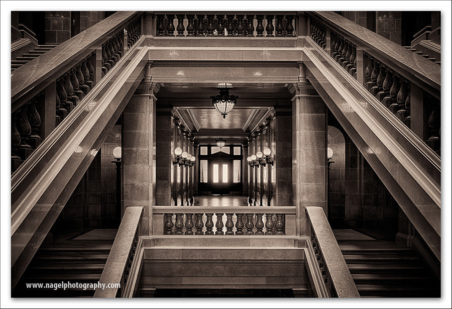 Photograph The framed hallway by Glenn Nagel on 500px