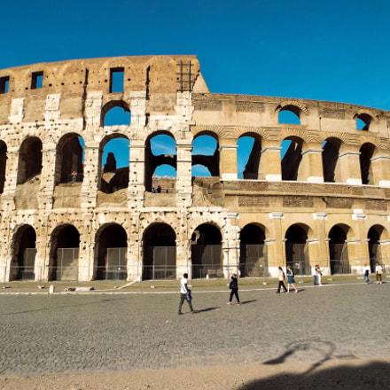 Photo of Rome colosseum , Fujifilm FinePix S9900W S9950W