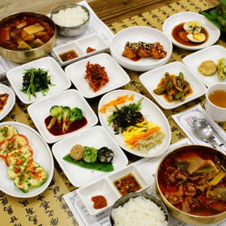 Korean food, Sony DSLR-A700