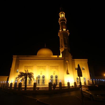 Mosque in Dubai, Canon EOS 7D