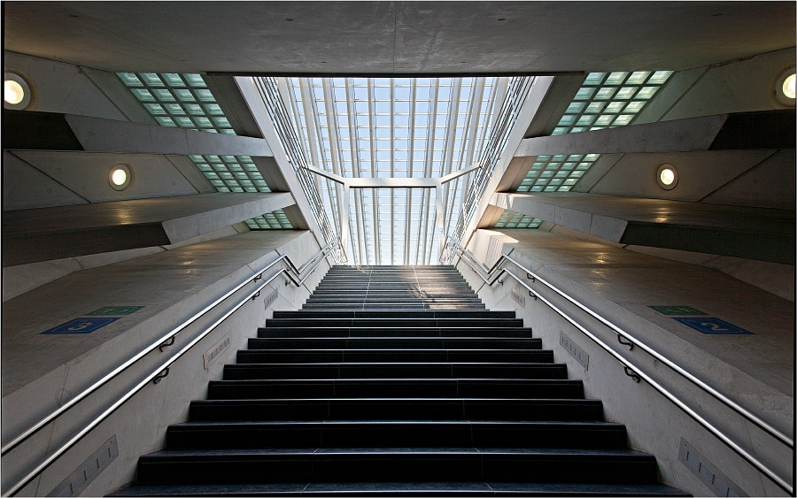 Photograph The stair by Eddy VANDERSPIKKEN on 500px