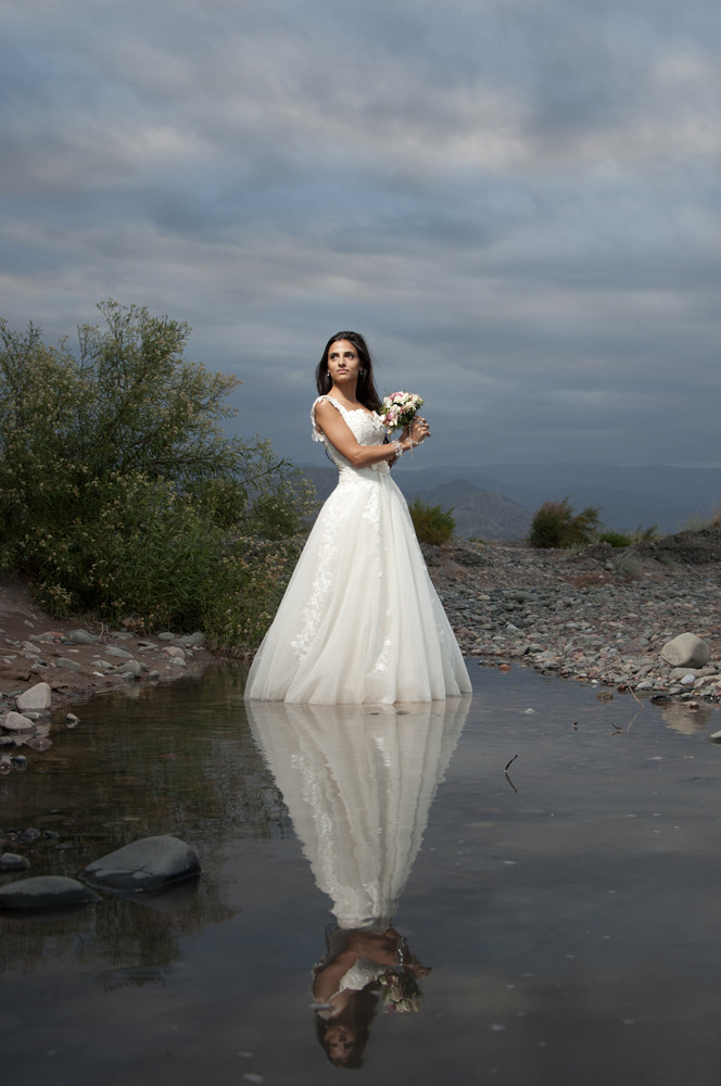 Photograph Bride on water by Carina Coca on 500px