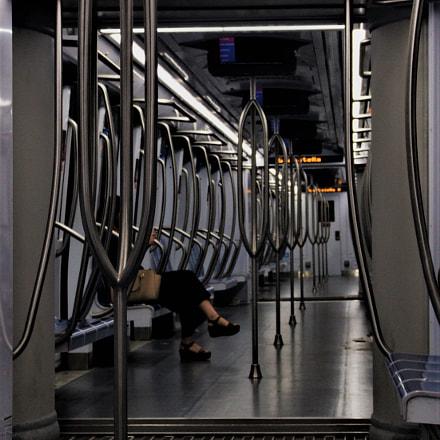 underground routes, Fujifilm FinePix S9600