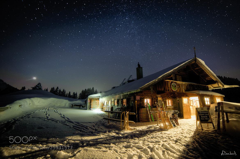 Photograph Aueralm - Night by Alexander Derenbach on 500px