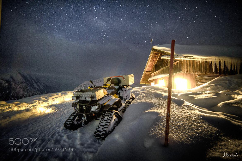 Photograph Snowscooter by Alexander Derenbach on 500px