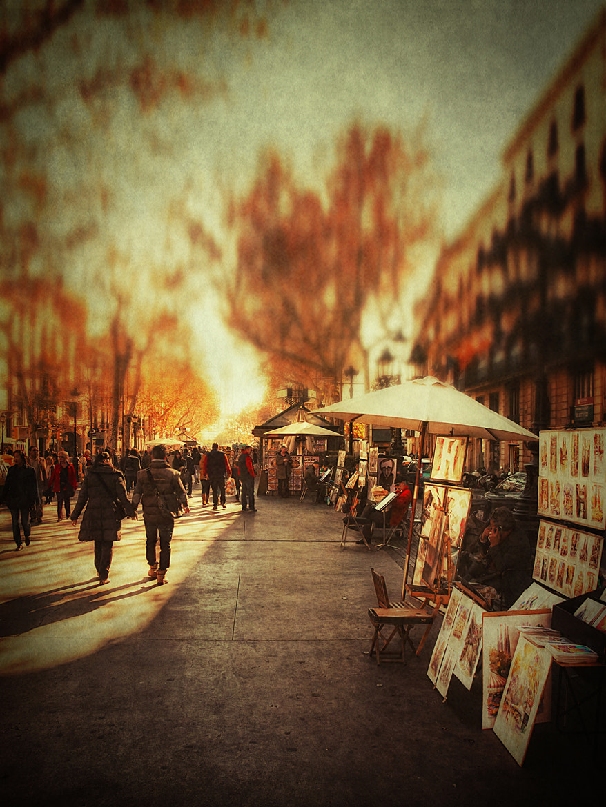 Photograph Les Rambles II by Iban Gonzalez on 500px
